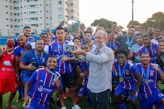 Gonçalense FC Campeão da Taça Corcovado de 2021