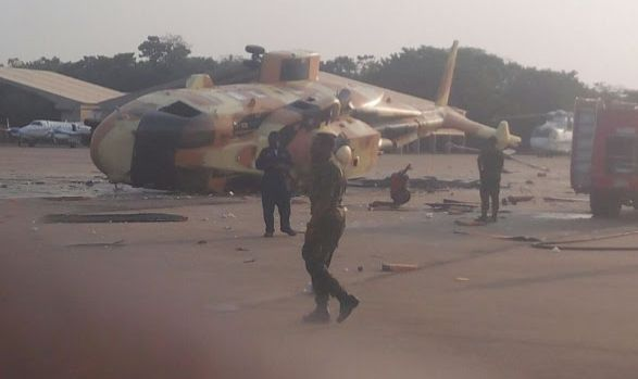 Presidential Aircraft Handed Over To Air Force Crashes?