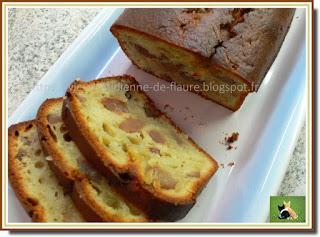 Vie quotidienne de FLaure : Deux recettes différentes de cakes garnis de marrons glacés