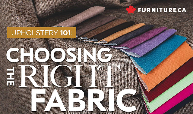 How to choose the right fabric for your sofa?