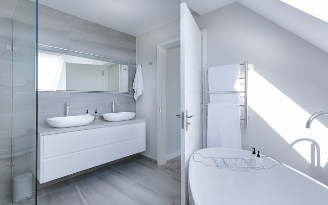 bright bathroom natural home light mental health