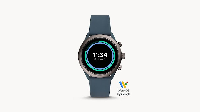 Fossil Sport Smartwatch 43mm Smokey Blue - FTW4021