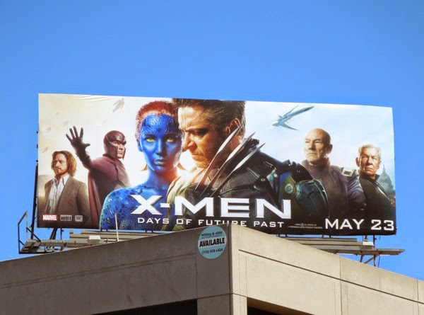 X-Men: Days of Future Past movie billboard