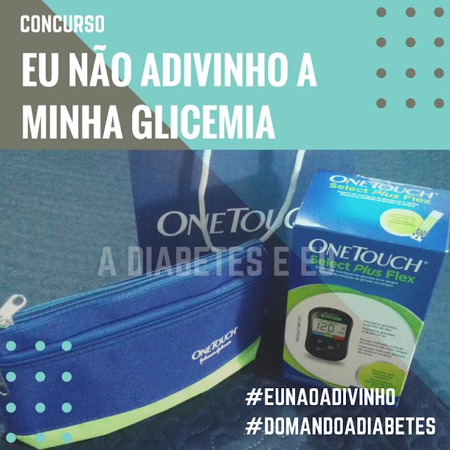 glicemia, controle glicêmico, diabetes, concurso, glicossímetro, adiabeteseeu