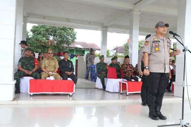 Bupati Taput Hadiri Apel Gelar Pasukan Operasi Ketupat Tahun 2019