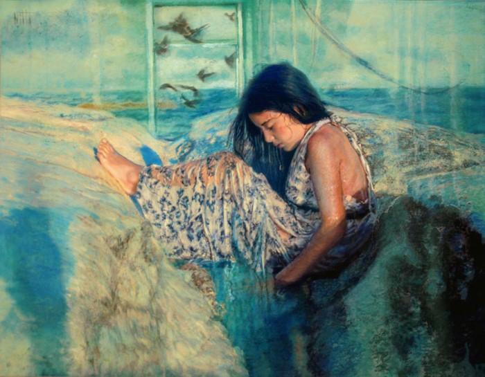 Современные художники Кипра. Sylvia Nitti 7