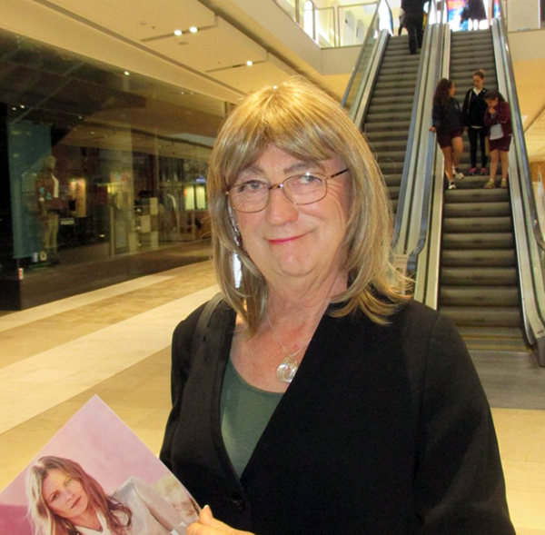 Caty Ryan out and about at the Melbourne Westfield mall.