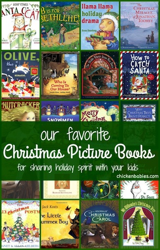 Great list of books to read aloud with kids during the holiday season to help your family get in the Christmas spirit!