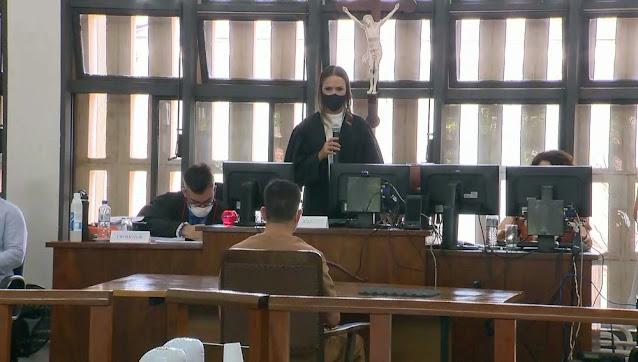Em Adamantina  - Tiago Pina é condenado a 27 anos pela assassinato de Vanessa Nery