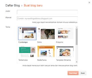 Cara Membuat Blog Pribadi di Blogspot dengan Mudah dan Praktis