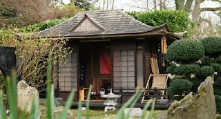 Japanese garden at Wharfdale