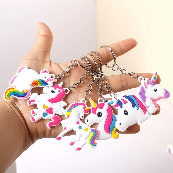 Unicorn Gifts for Girls Unicorn Keychains, Funny Unicorn Toys for Kids Birthday Party Supplies Favors Bags, Christmas Stocking Stuffers Fillers, 30 Pack