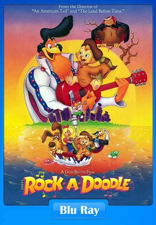 Rock A Doodle 1991 HEVC BRRip 100MB x265 Poster