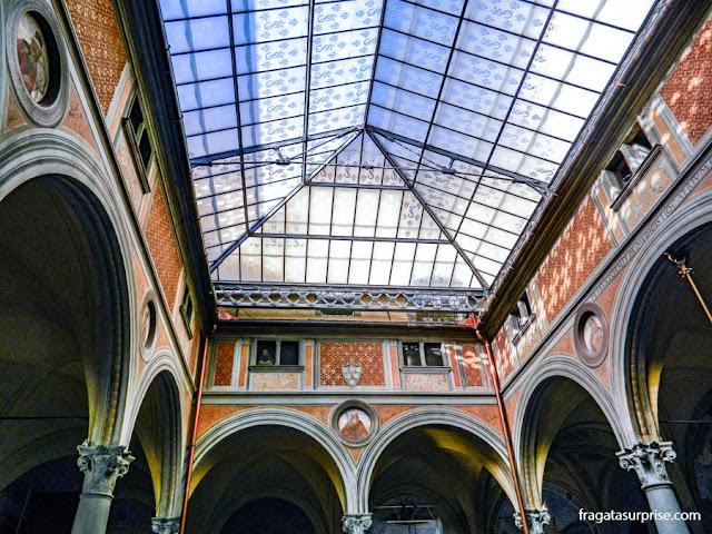 Florença - Chistrino dei Voti, na Basílica da Santissima Annunziata