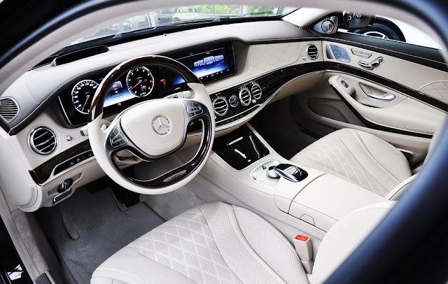 Nội thất Mercedes Maybach S450 4MATIC 2019 được các kỹ sư Mercedes thiết kế một cách tinh tế, sắc sảo