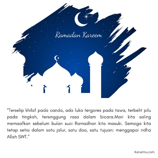 Download Ucapan Menyambut Ramadhan