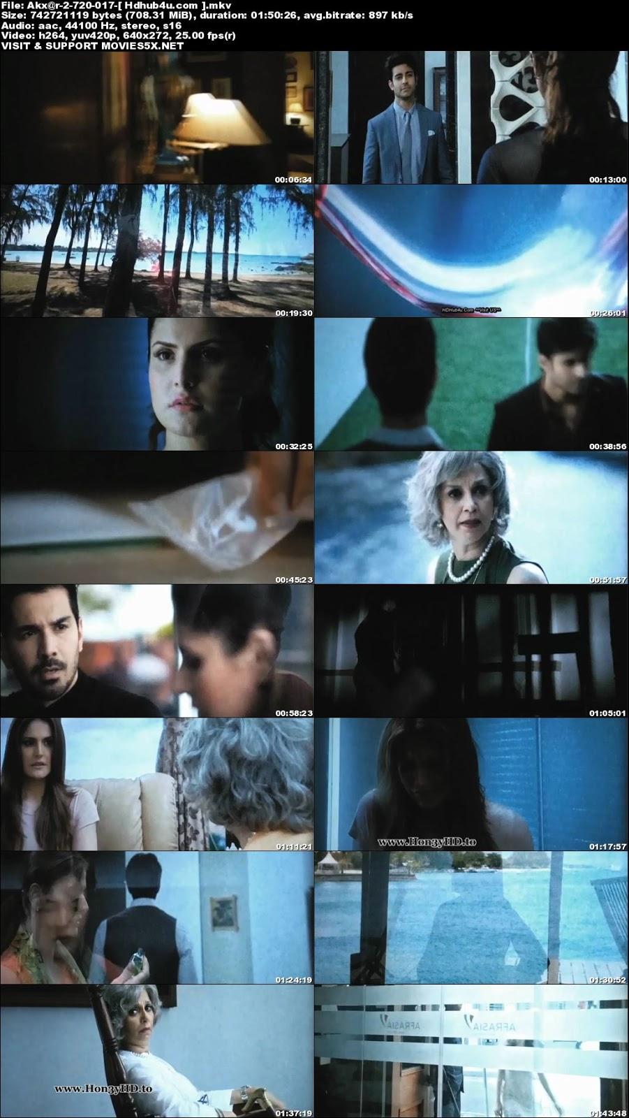 Aksar 2 2017 300Mb Hindi Movie PreDvDRip x264 Download