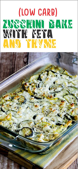 LOW-CARB ZUCCHINI BAKE WITH FETA AND THYME