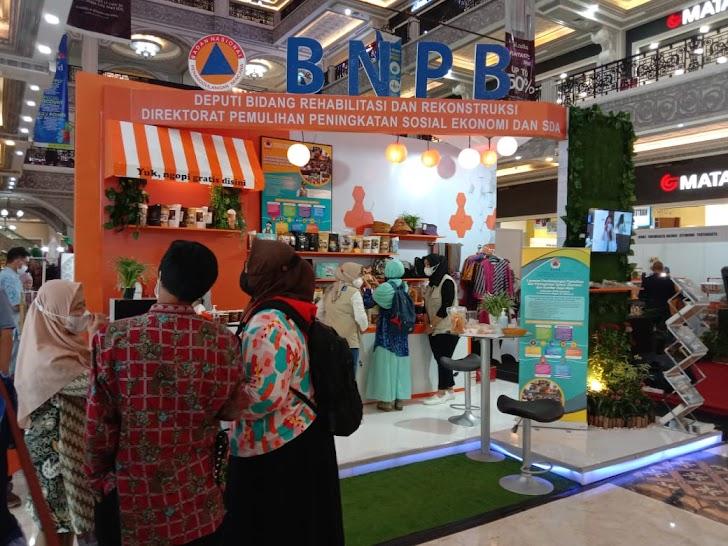 Produk UMKM Terdampak Bencana Binaan BNPB Dipamerkan Di Jogja City Mall