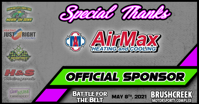 AirMax HEATING and COOLING adds $100 to B-Main Event Winner's Prize at Battle For The Belt 2021