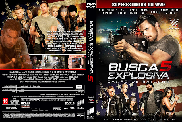 Capa DVD Busca Explosiva 5 Campo de Batalha [Custom]