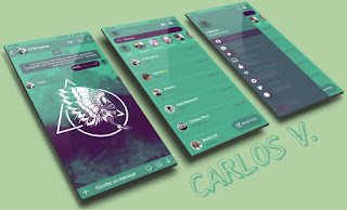 INDIO CARABELA Theme For YOWhatsApp & Fouad WhatsApp By Carlos