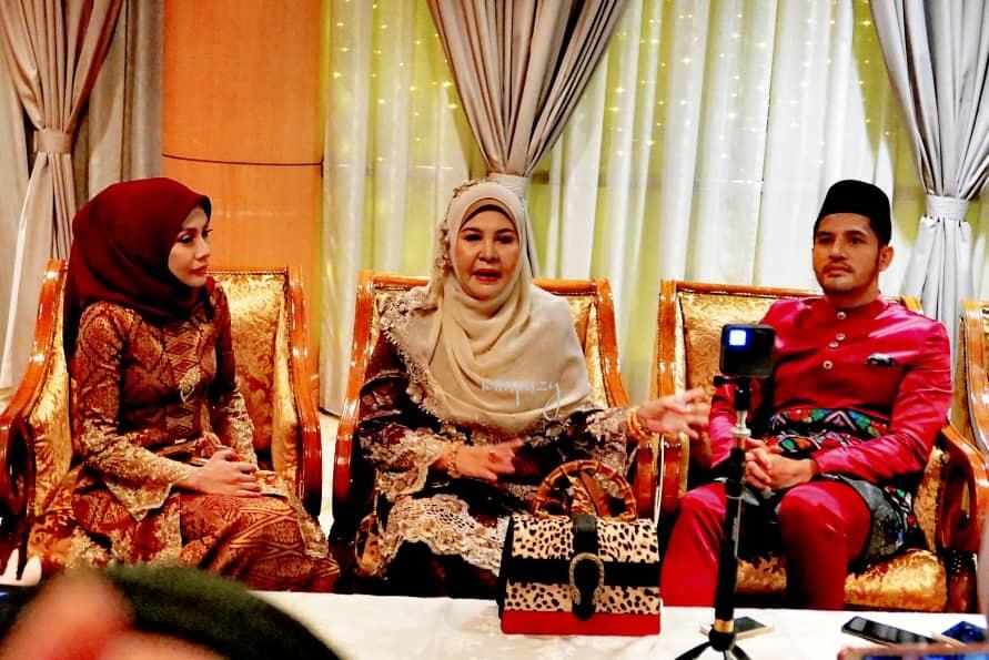Konsep Rumah Hutan Dan Istana Ratu Tema Majlis Persandingan Adik Dato Seri Alif Syukri