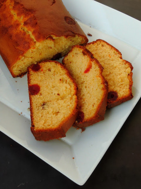 Cherries Cake, Cherries Pound Cake