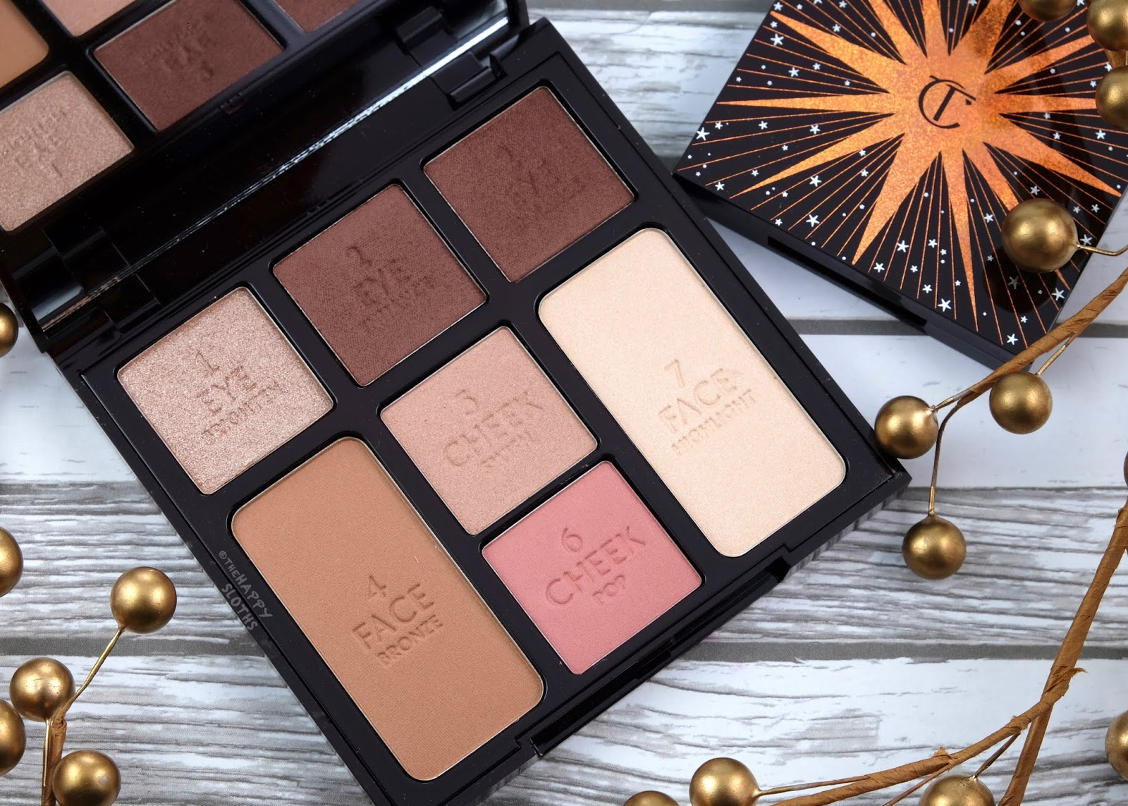 "Charlotte Tilbury | Instant Look in a Palette in ""Gorgeous, Glowing Beauty"": Review and Swatches"