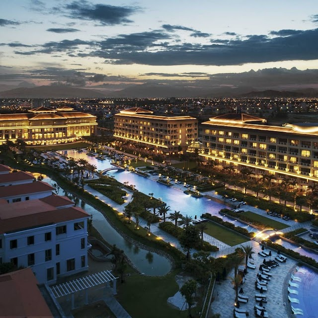 The resort is chosen by super rich when coming to Vietnam