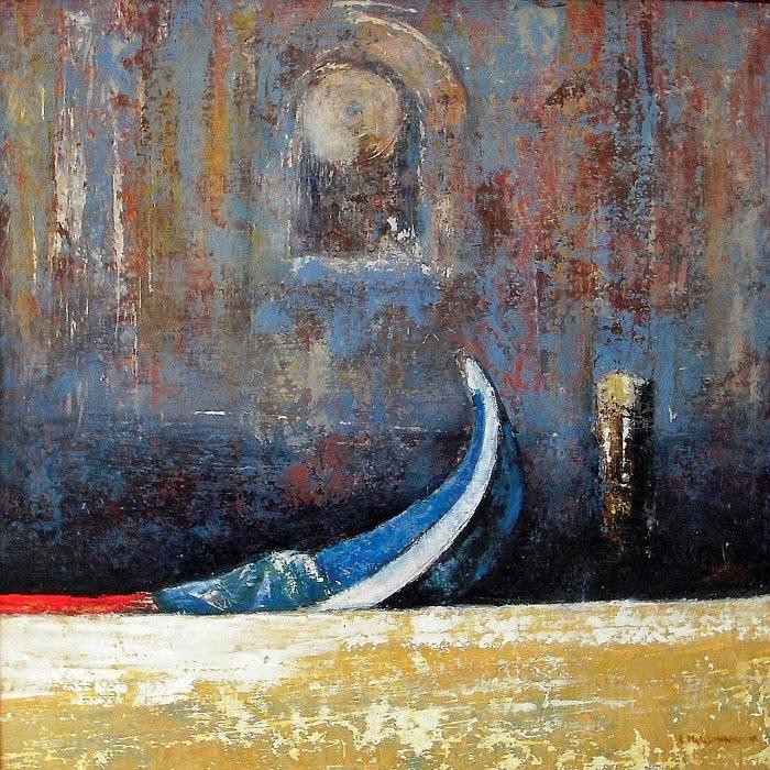 Живопись рождается от тишины. Leszek Harasimowicz