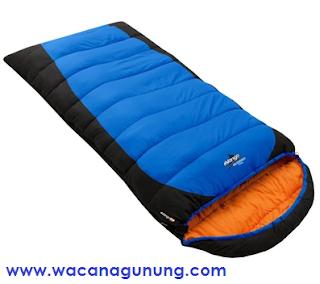 Sleeping bag untuk mendaki gunung