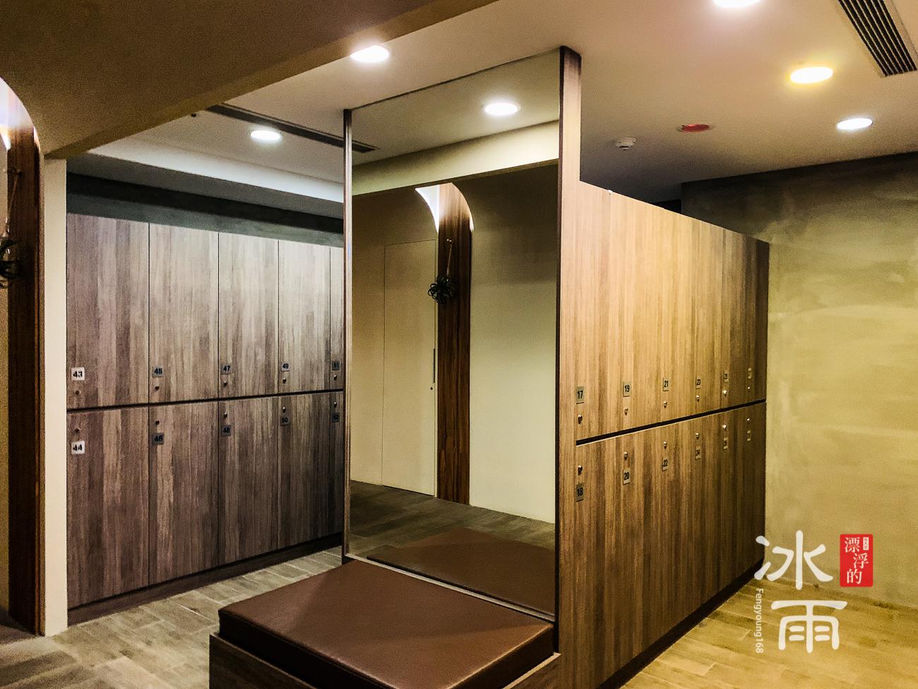陽明山天籟渡假酒店|置物櫃