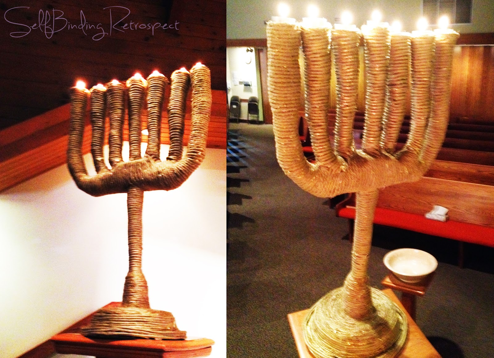 How to make a Tabernacle Lampstand, Menorah, DIY