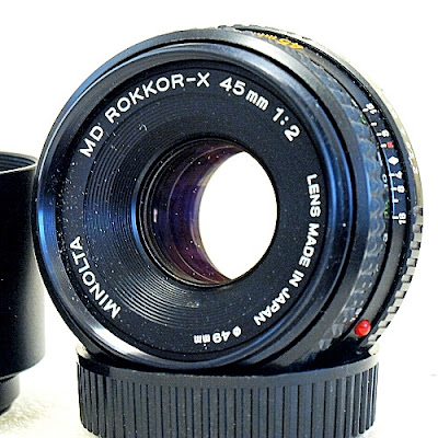 Minolta MD Rokkor-X 45mm F2