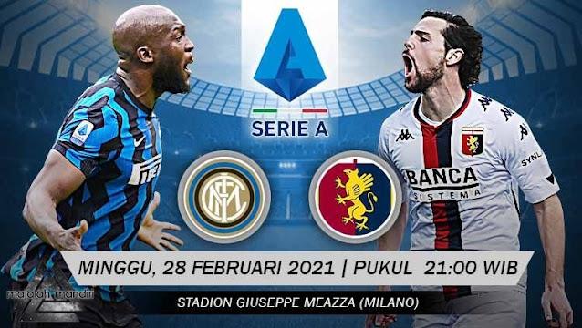 Prediksi Inter Milan Vs Genoa