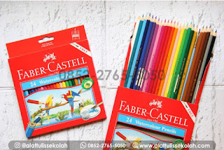 Pensil Warna Faber Castell Water Colour 24 | +62 852-2765-5050