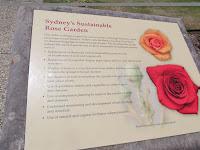 Growing roses in a sustainable way - Royal Botanic Gardens, Sydney, Australia