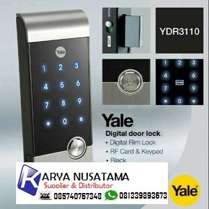 Jual Yale Card Rim Doorlock Pakai Kartu / Pin di Sulawesi