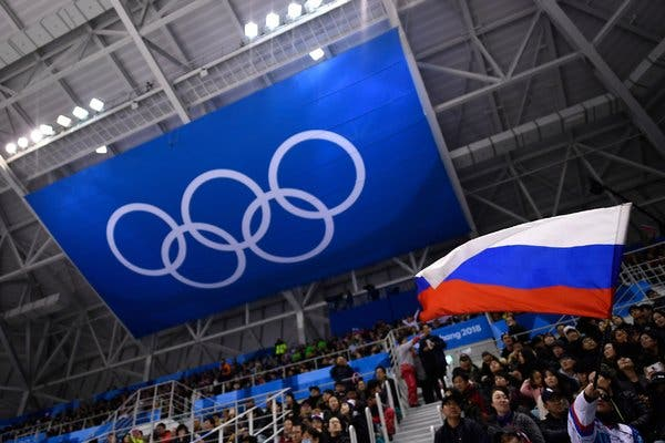 Russia banned for 4 years to include 2020 Olympics