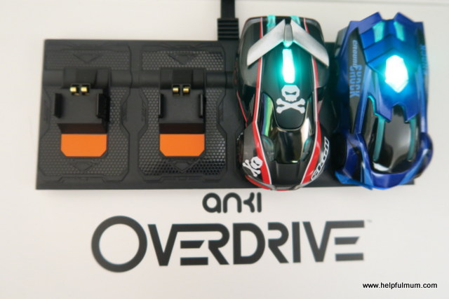 Anki Overdrive charging