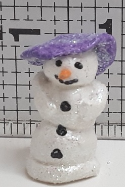 Miniature Snow Lady