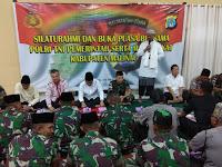Wujud Sinergitas Dandim 0910/Malinau Hadiri Silaturahmi dan Buka Puasa bersama di Polres Malinau