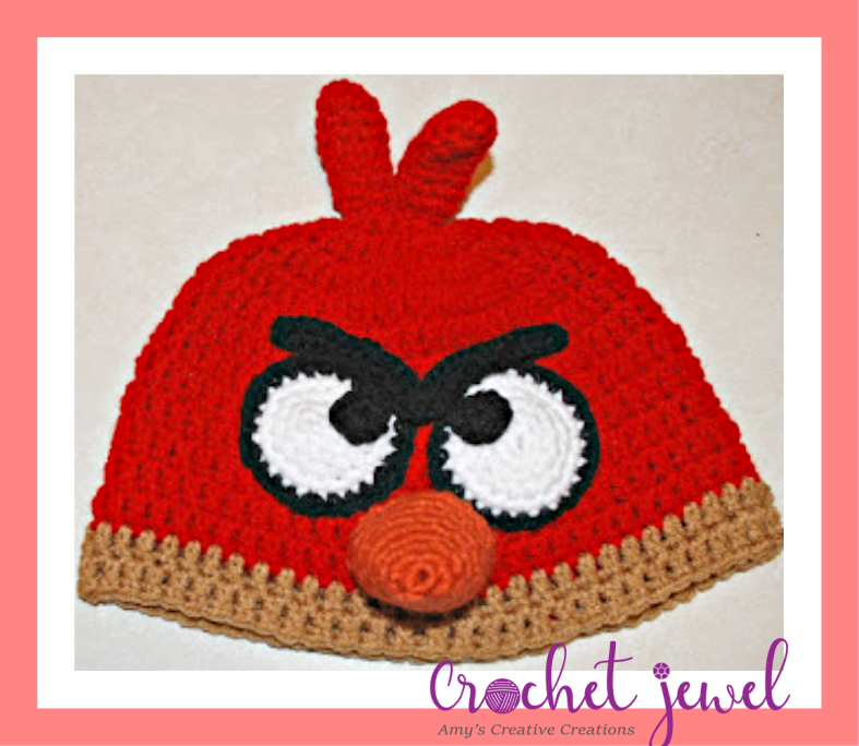Angry Birds Amigurumi – Free Pattern | Amigurumi pattern, Crochet ... | 684x787