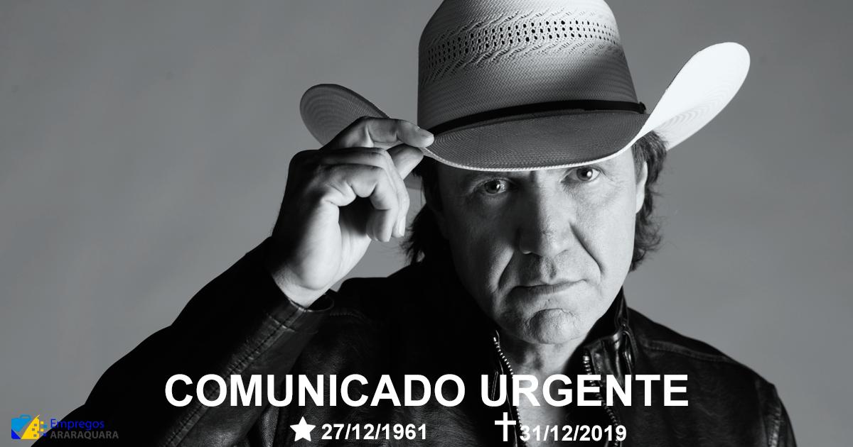 Morre o cantor Juliano Cezar em apresentação após ataque cardíaco em cima do palco
