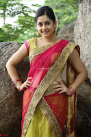 Actress Ronika in Red Saree ~  Exclusive celebrities galleries 030.JPG