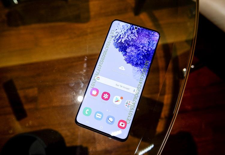 Samsung Unveils Galaxy S20+