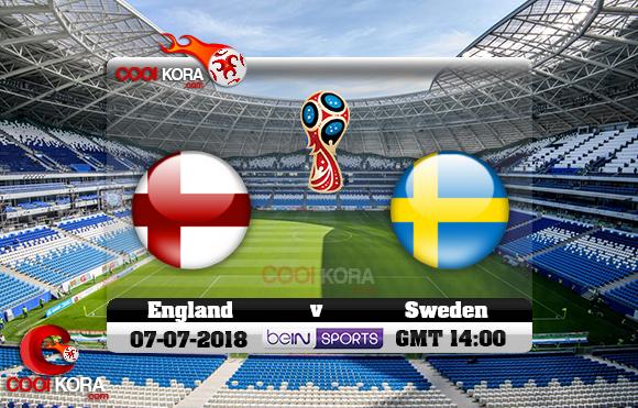 مشاهدة مباراة إنجلترا والسويد اليوم 6-7-2018 بي أن ماكس كأس العالم 2018