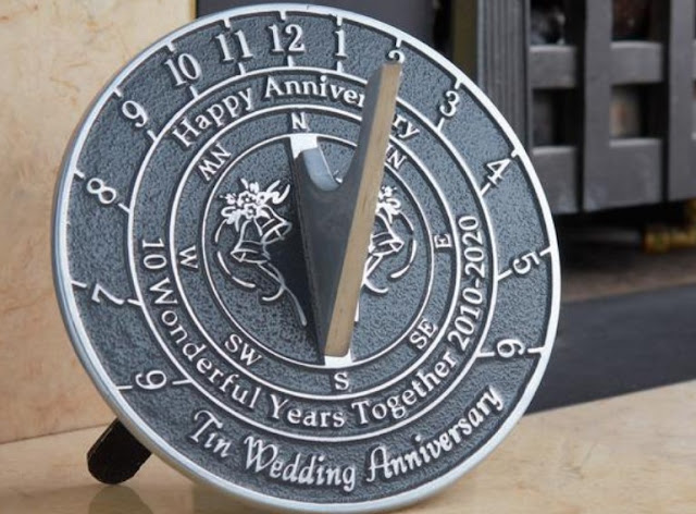 Wedding Memorial Sundial