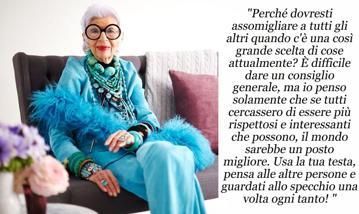 News on Fashion - Eniwhere Fashion - Iris Apfel mood
